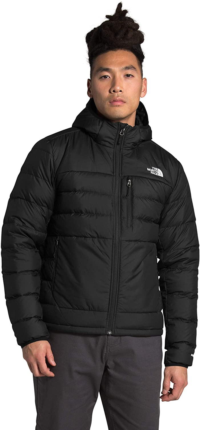 Men's The North Face Aconcagua 2 Hoodie in TNF Black from the front