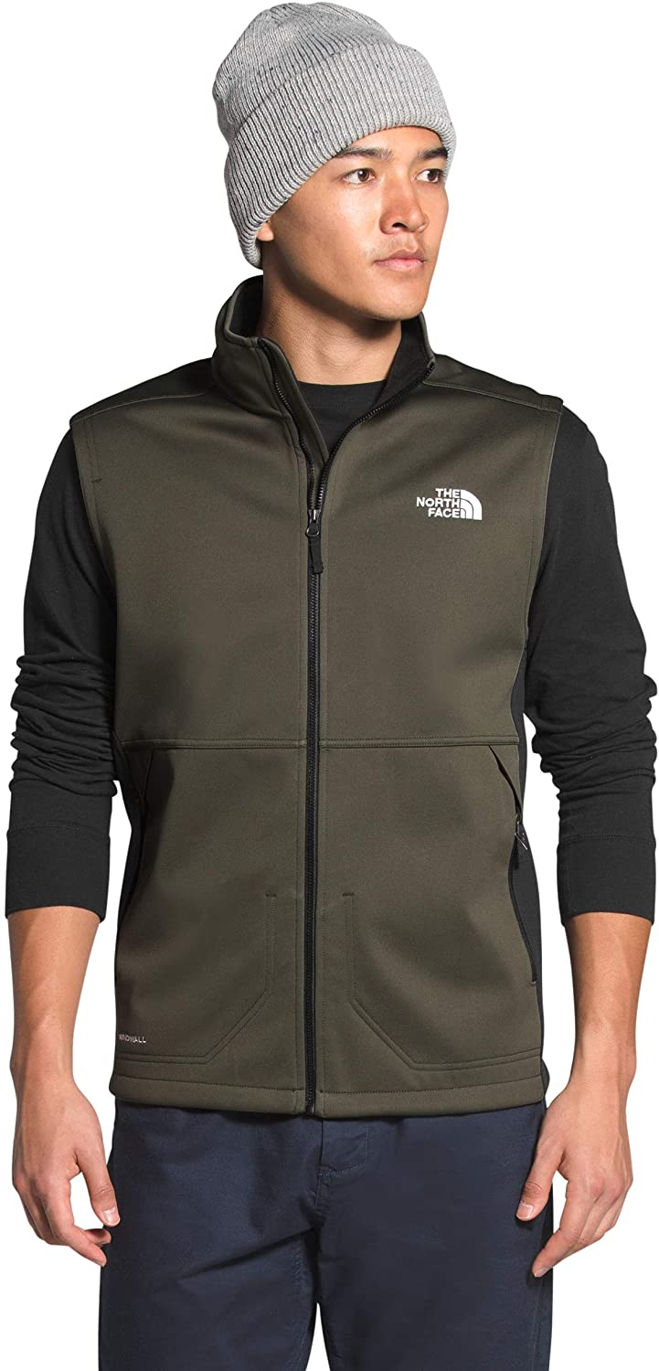 Mens The North Face Apex Canyonwall Vest New Taupe Green Tnf Black