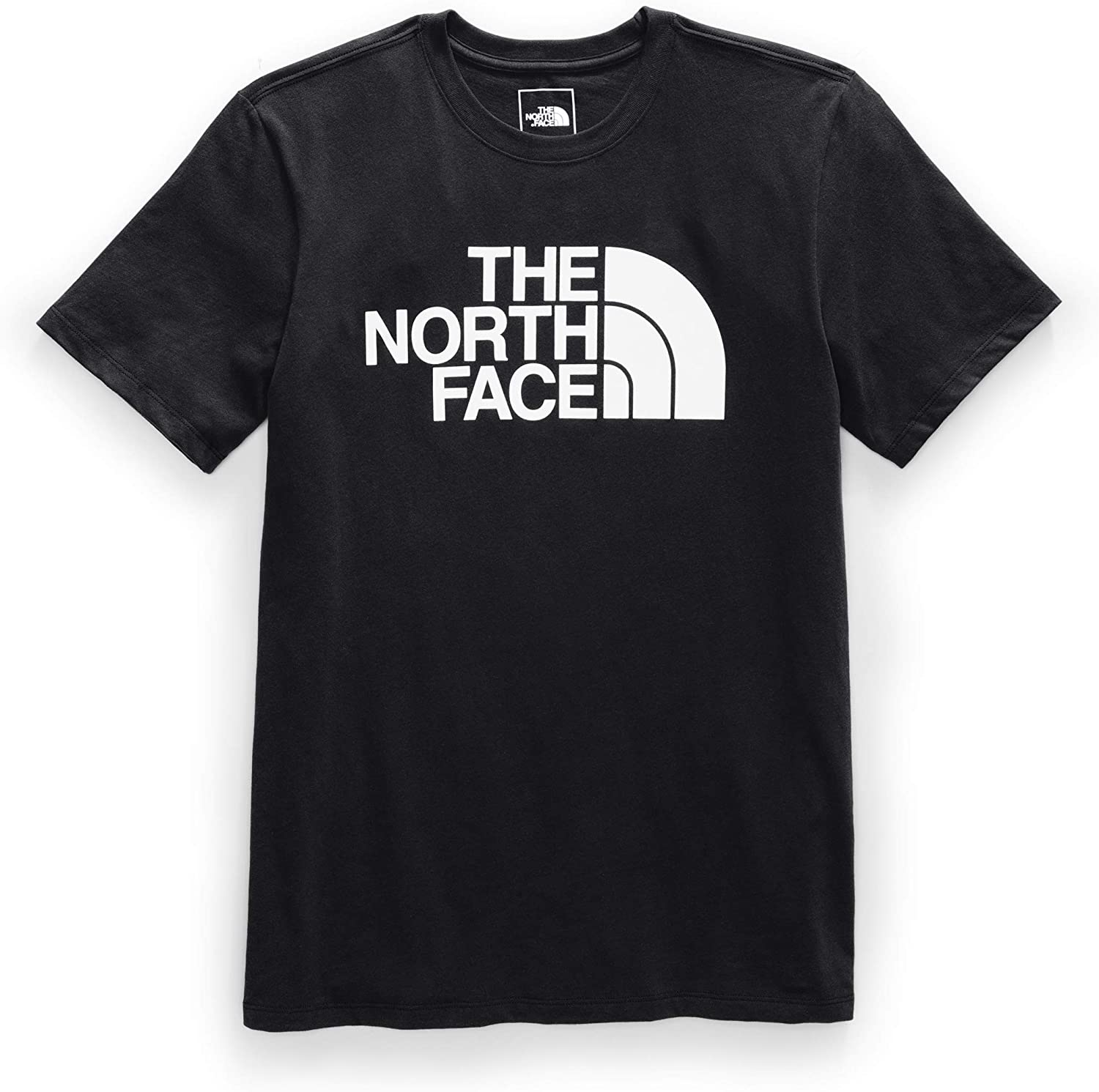 Men's The North Face Short-Sleeve Half Dome Tee in TNF Black from the front