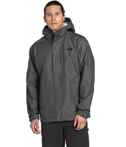 Men's The North Face Venture 2 Jacket - Tall in TNF Dark Grey Heather/TNF Dark Grey Heather/TNF Black