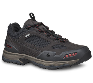 Men's Vasque Breeze All-Terrain Low GTX Waterproof Hiking Shoe in Ebony/Rosewood