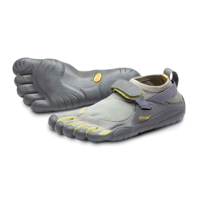 Men's Vibram Five Fingers KSO Training Shoe in Grey/Palm/Clay from the front