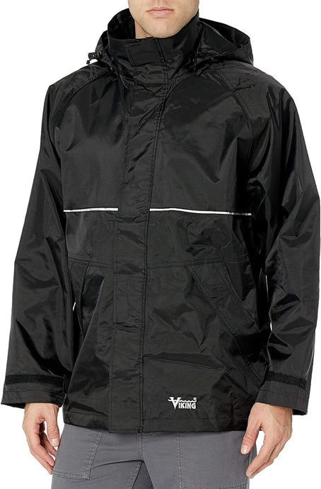 Men's Viking Journeyman 420D Industrial Jacket in Black from the front