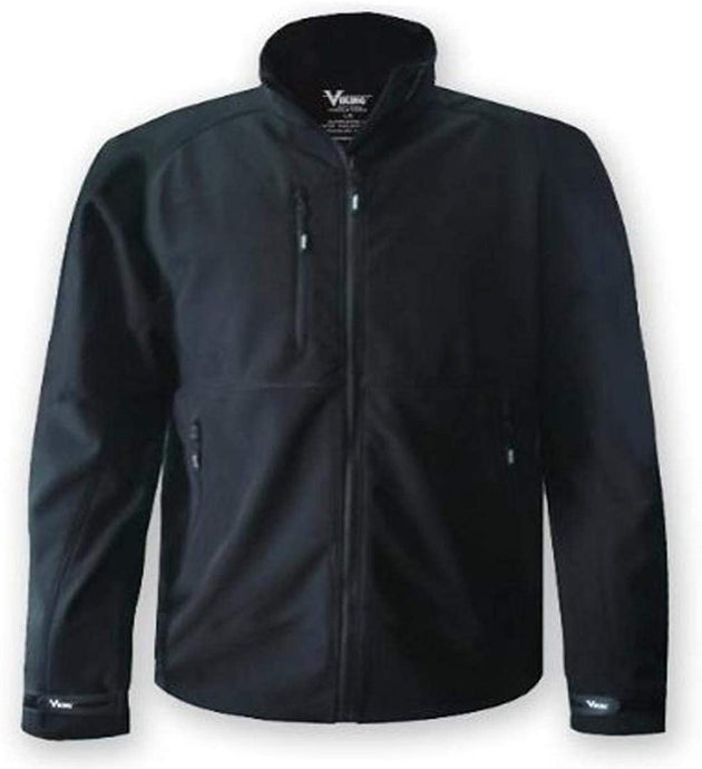 Men's Viking Thor Soft Shell Jacket in Black from the front