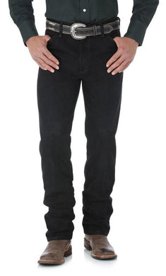 Men's Wrangler Cowboy Cut Jean Original Fit in Shadow Black
