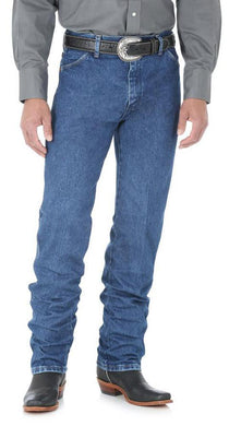 Men's Wrangler Cowboy Cut Jean Original Fit in Stonewashed
