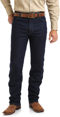 Men's Wrangler Cowboy Cut® Original Fit Active Flex Jeans in Prewashed Indigo