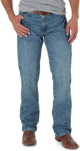 Men's Wrangler Retro Slim Boot Jean in Worn In