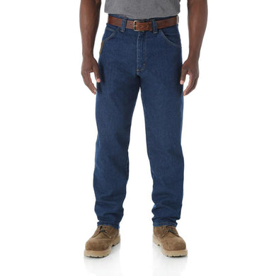Men's Wrangler Riggs Workwear Relaxed Fit Jean in Antique Indigo