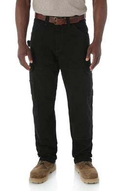 Men's Wrangler RIGGS Workwear Ripstop Ranger Pant in Black
