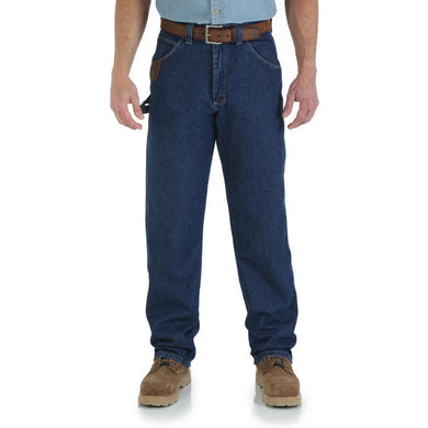 Men's Wrangler Riggs Workwear Work Horse Jean in Antique Indigo