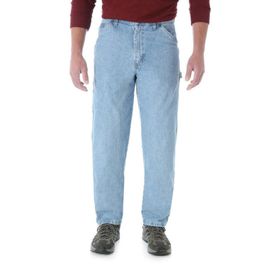 Men's Wrangler Rugged Wear Carpenter Jean in Vintage Indigo