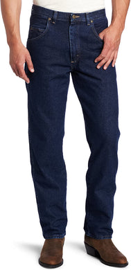 Men's Wrangler Rugged Wear Relaxed Fit Jean in Antique Navy
