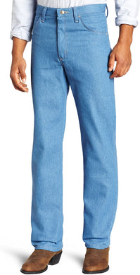 Men's Wrangler Rugged Wear Stretch Jean in Light Blue