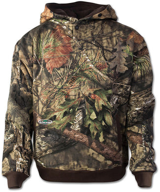 Mossy Oak Double Thick Pullover Sweatshirt in Break-up Country color from the front view