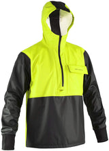 Load image into Gallery viewer, Neptune Anorak in Hi Vis Yellow color from the front view