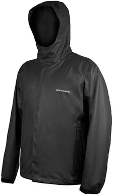 Neptune Jacket in Black color from the front view