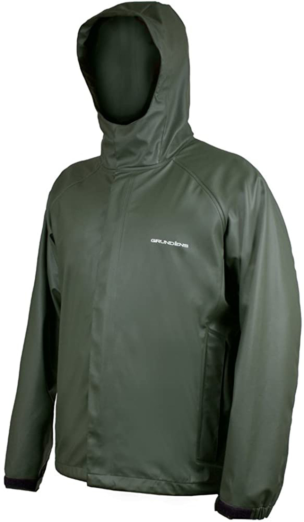 Neptune Jacket in Green color from the front view