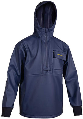 Neptune Thermo Pullover in Navy color from the front view