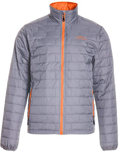 Night Watch 2.0 Insulated Puffy Jacket in Monument Grey color from the front view