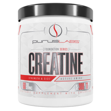 Purus Labs Creatine Dietary Supplement from the front view