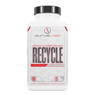 Purus Labs Recycle Dietary Supplement from the front view