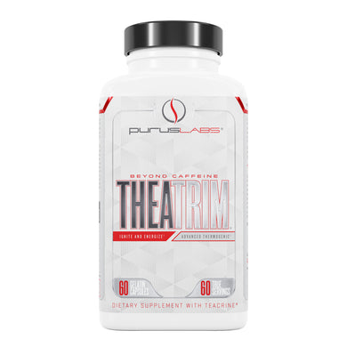 Purus Labs Theatrim Dietary Supplement from the front view