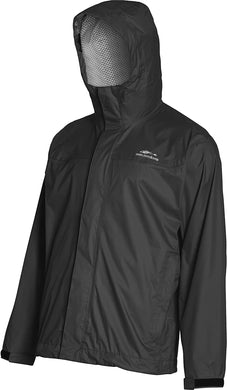 Storm Seeker Jacket in Black color from the front view