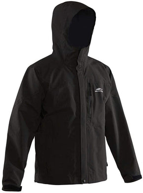 Storm Surge Jacket in Black color from the front view