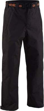 Storm Surge Pant in Black color from the front view