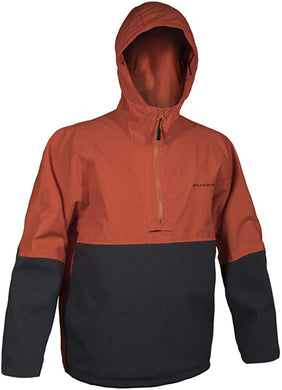 Superwatch Anorak in Hi Vis Orange color from the front view