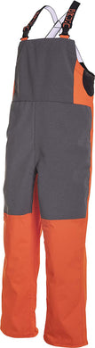 Superwatch Bib in Hi Vis Orange color from the front view