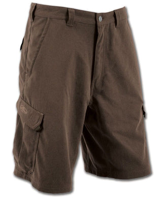 Tech II Shorts in Chestnut color from the front view