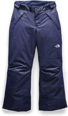 The North Face Girls Freedom Insulated Pant Montague Blue Denim Twill