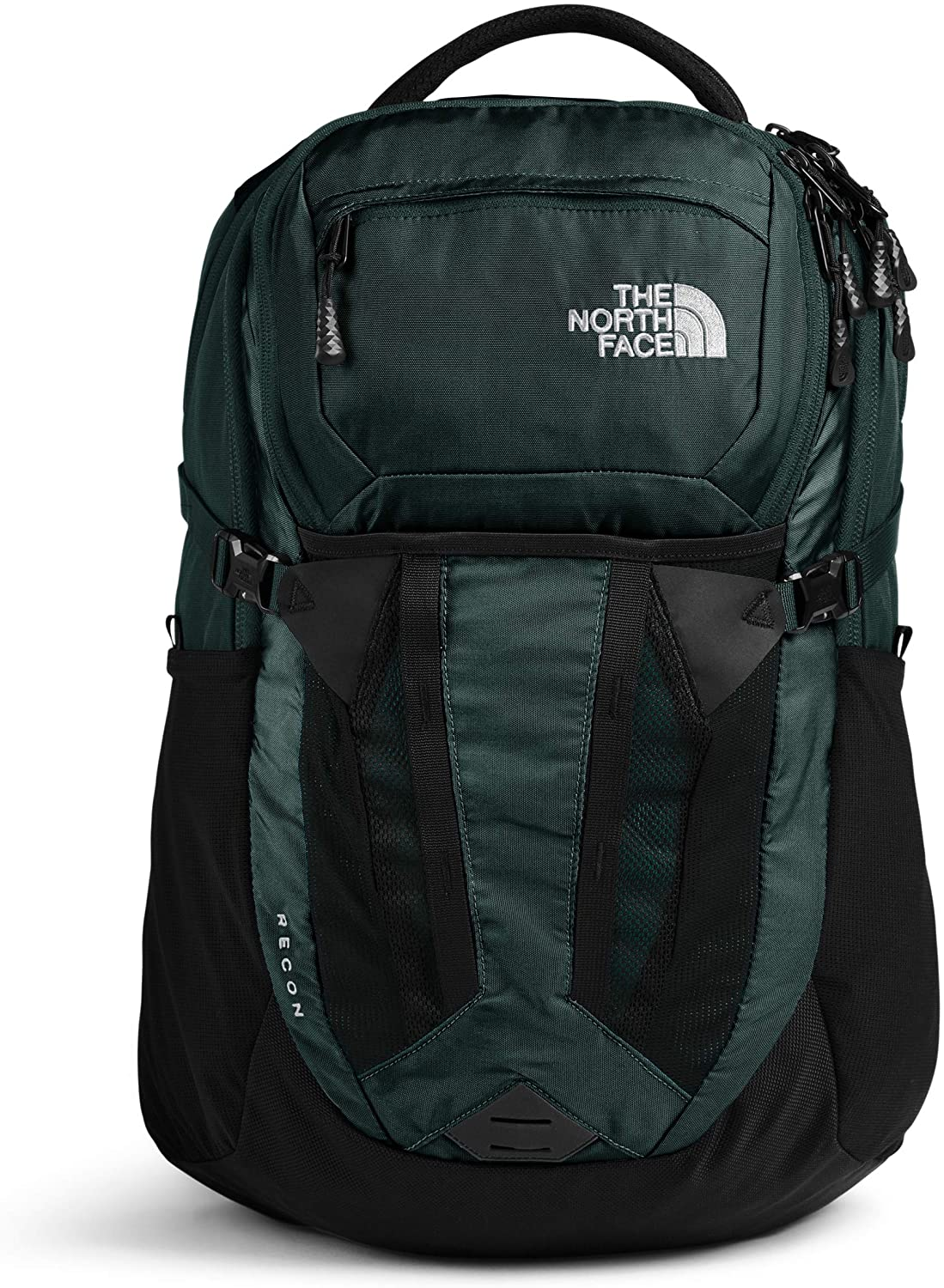 The North Face Recon Backpack Scarab Green Tnf Black