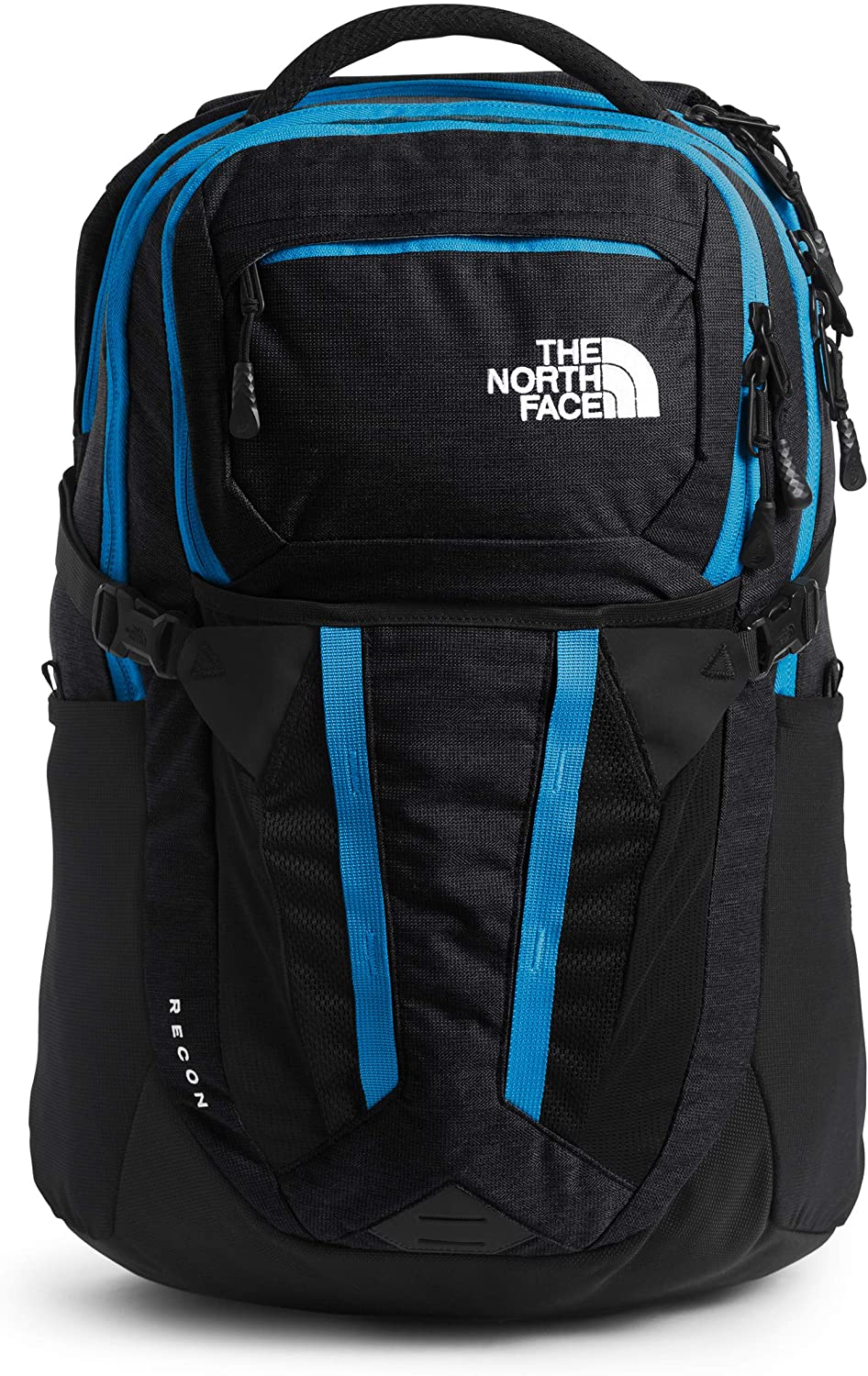The North Face Recon Backpack Tnf Black Light Directional Heather Clear Lake Blue