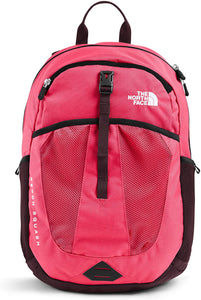 The North Face Youth Recon Squash Backpack Paradise Pink Root Brown