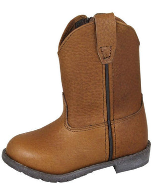 Toddler Smoky Mountain Brown Leather Jackson Boot in Brown