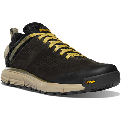 Trail 2650 Hiking Shoe in Black Olive/Flax Yellow color from the side view