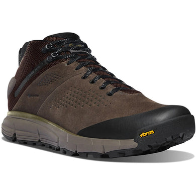 Trail 2650 Hiking Shoe in Brown/Military Green color from the side view