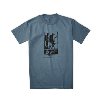 Danner Unisex Classic Hiking T-Shirt in Blue from the side