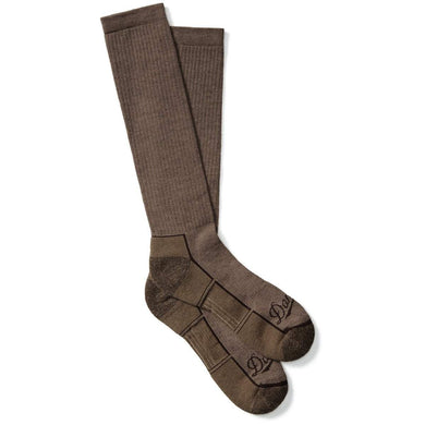 Danner Unisex Hunt Lightweight Synthetic Over-Calf Hunting Sock in Brown from the side