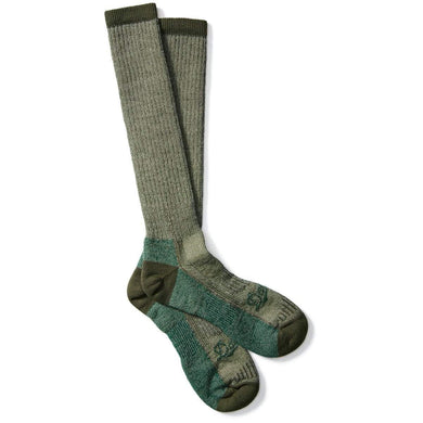 Danner Unisex Hunt Midweight Merino Over-Calf Hunting Sock in Green from the side
