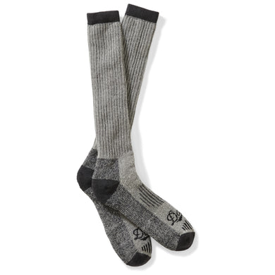 Danner Unisex Hunt Winterweight Merino Over-Calf Hunting Sock in Gray from the side