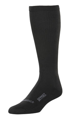 Danner Unisex TFX Hot Weather Drymax Over-Calf Sock in Black from the side