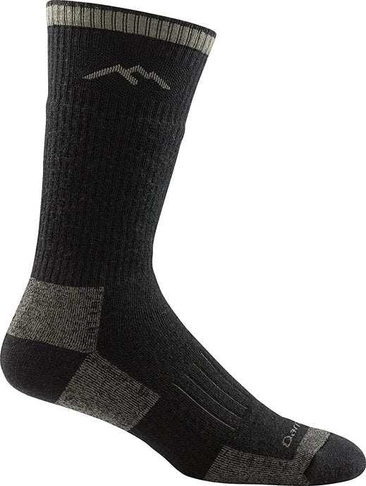 Unisex Darn Tough Hunter Boot Cushion Sock in Charcoal from the side view