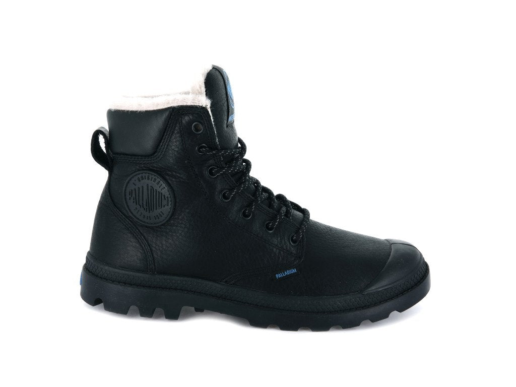 Unisex Palladium Pampa Sport Cuff Wps Boot In Black