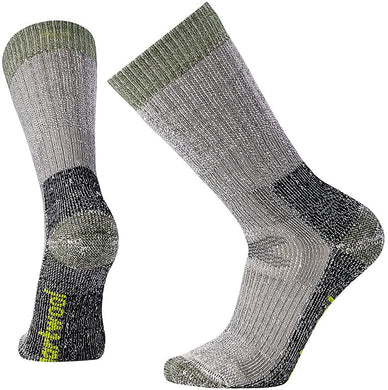 Unisex Smartwool Hunting Extra Heavy Crew Socks in Charcoal from the front view