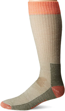 Unisex Smartwool Hunting Medium Crew Socks in Loden from the front view