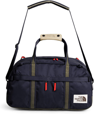 Unisex The North Face Berkeley Duffel Small Bag in Aviator Navy Light Heather/New Taupe Green